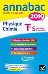 Télécharger le livre :  Annales Annabac 2019 Physique-chimie Tle S