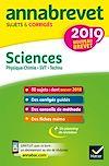 Télécharger le livre :  Annales du brevet Annabrevet 2019 Sciences (Physique-chimie SVT Technologie) 3e
