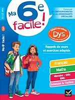 Download this eBook Ma 6e facile ! adapté aux enfants DYS ou en difficulté d'apprentissage