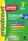 Télécharger le livre :  Sciences 3e (Physique-chimie, SVT, Techno) - Prépabrevet L'examen avec mention