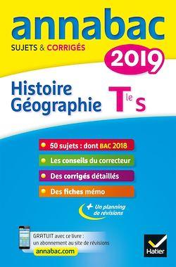 Annales Annabac 2019 Histoire-Géographie Tle S