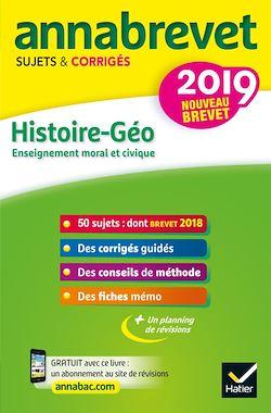 Annales du brevet Annabrevet 2019 Histoire Géographie EMC 3e