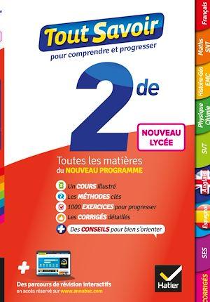 Téléchargez le livre :  Tout savoir 2de Nouveau programme du Lycée - Tout en un