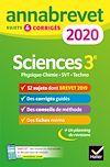 Télécharger le livre :  Annales du brevet Annabrevet 2020 Sciences (Physique-chimie SVT Technologie) 3e
