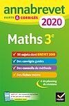 Télécharger le livre :  Annales du brevet Annabrevet 2020 Maths 3e