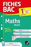 Télécharger le livre :  Fiches bac Maths 1re générale (spécialité)