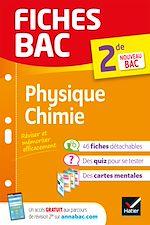 Téléchargez le livre :  Fiches bac Physique-Chimie 2de