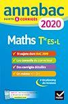 Télécharger le livre :  Annales Annabac 2020 Maths Tle ES, L