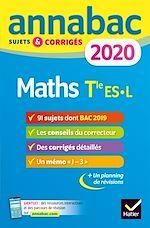 Téléchargez le livre :  Annales Annabac 2020 Maths Tle ES, L