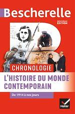 Téléchargez le livre :  Bescherelle Chronologie de l'histoire du monde contemporain