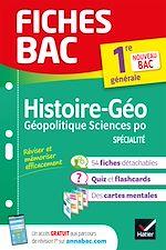 Download this eBook Fiches bac Histoire-géographie, Géopolitique, Sciences politiques 1re (HGGSP)