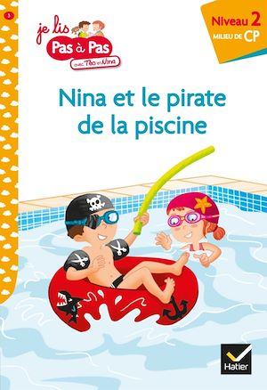 Image de couverture (Nina et le pirate de la piscine : niveau 2, milieu de CP)