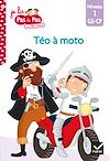 Télécharger le livre :  Téo et Nina GS-CP Niveau 1 - Téo à moto