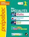 Télécharger le livre :  Mes spécialités Maths, Physique-chimie, SVT 1re