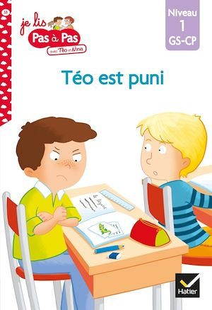 Téléchargez le livre :  Téo et Nina GS-CP Niveau 1 - Téo est puni