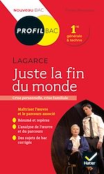 Téléchargez le livre :  Profil - Lagarce, Juste la fin du monde