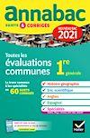 Télécharger le livre :  Annales du bac Annabac 2021 Toutes les évaluations communes 1re générale