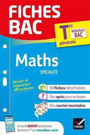 Téléchargez le livre :  Fiches bac Maths Tle (spécialité)