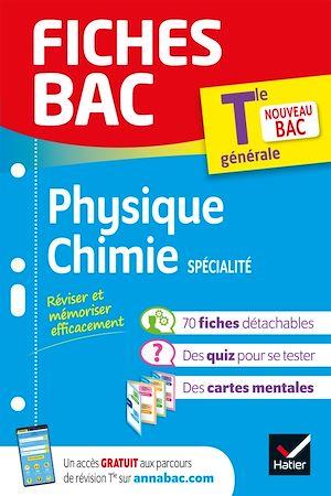 Téléchargez le livre :  Fiches bac Physique-Chimie Tle (spécialité)