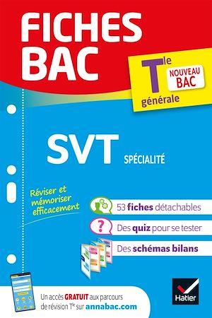 Téléchargez le livre :  Fiches bac SVT Tle (spécialité)