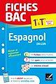 Télécharger le livre : Fiches bac Espagnol 1re/Tle (tronc commun)