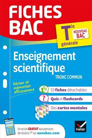 Téléchargez le livre :  Fiches bac Enseignement scientifique Tle (tronc commun)