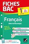 Télécharger le livre :  Fiches bac Français 1re technologique Bac 2021