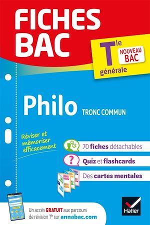 Téléchargez le livre :  Fiches bac Philosophie Tle (tronc commun)