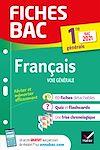 Télécharger le livre :  Fiches bac Français 1re générale Bac 2021