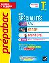 Télécharger le livre :  Prépabac Mes spécialités SES, HGGSP, Grand oral & Maths complémentaires Tle générale