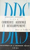 Télécharger le livre :  Débouchés agricoles (4)