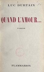 Download this eBook Quand l'amour...