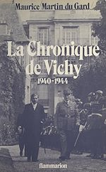 Download this eBook La chronique de Vichy, 1940-1944