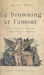 Download this eBook Le browning et l'amour