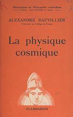Download this eBook La physique cosmique