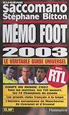 Télécharger le livre :  Mémo foot 2003