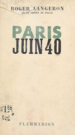 Download this eBook Paris, juin 40