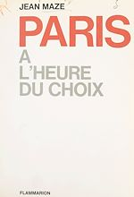 Download this eBook Paris à l'heure du choix