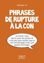 Download this eBook Petit Livre de - Phrases de rupture à la con