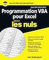 Télécharger le livre :  Programmation VBA pour Excel 2010, 2013 et 2016 pour les Nuls grand format