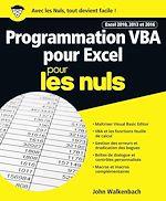 Download this eBook Programmation VBA pour Excel 2010, 2013 et 2016 pour les Nuls grand format