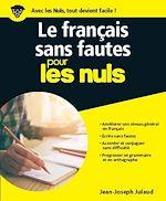 Download this eBook Le français sans fautes pour les Nuls grand format