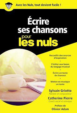 Download the eBook: Ecrire ses chansons pour les Nuls, poche