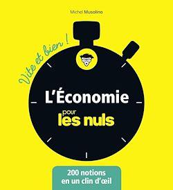 Download the eBook: L'économie pour les Nuls - Vite et Bien
