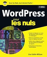 Download this eBook WordPress pour les Nuls, grand format, 3e édition