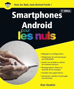 Download the eBook: Smartphones Android pour les Nuls, grand format, 6e édition