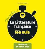 Download this eBook La littérature française pour les Nuls - Vite et bien