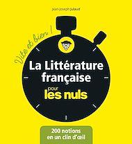 Téléchargez le livre :  La littérature française pour les Nuls - Vite et bien