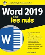 Download this eBook Word 2019 pour les Nuls