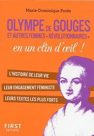 Téléchargez le livre :  Petit Livre Olympe de Gouges et les femmes de la révolution en un clin d'oeil